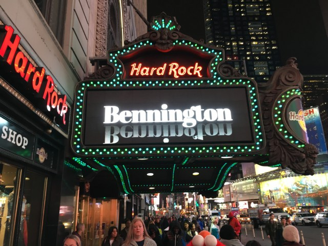 bennington hard rock 1